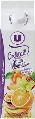 Pur jus cocktail multifruits - Produit - fr