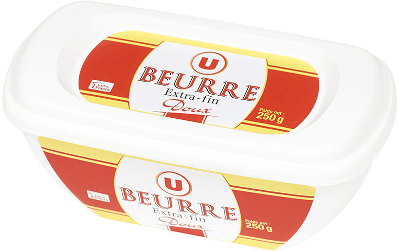 Beurre extra fin doux 82%mg, - Product
