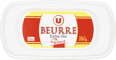 Beurre extra fin doux 82%mg - Product - fr
