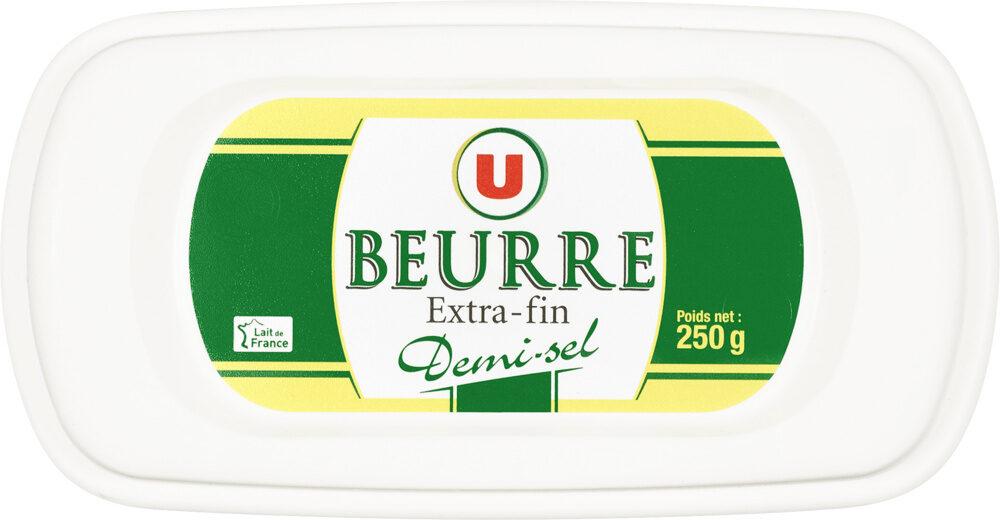 Beurre extra fin demi-sel 80% de MG - Product - fr