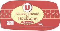 Beurre moulé demi-sel 80%MG - Produit - fr