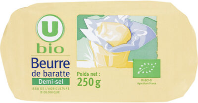 Beurre demi sel de baratte - Produit - fr