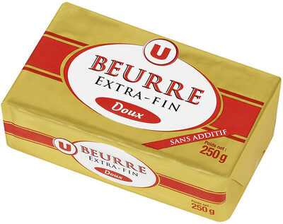 Beurre doux extra fin 82%MG - Product