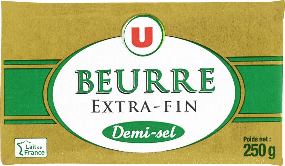 Beurre extra fin demi-sel 80% de MG - Prodotto - fr