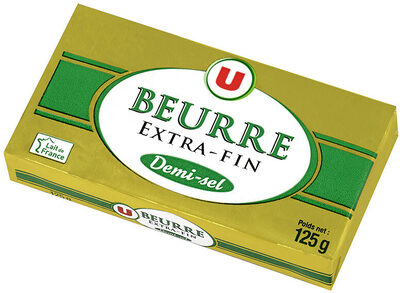 Beurre demi sel - Product