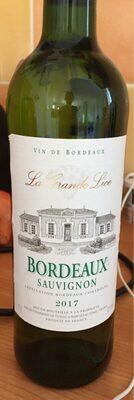 Vin blanc AOC Bordeaux Sauvignon La grande Lice - Product