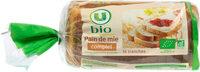 Pain de mie complet issu de l'agriculture - Prodotto - fr