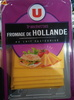Tranchettes fromage de Hollande - Product
