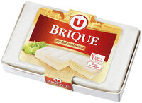 Fromage Brique au lait de vache pasteurisé 32%MG - Product