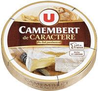 Camembert de Caractère au Lait Pasteurisé 21%MG - Produit - fr