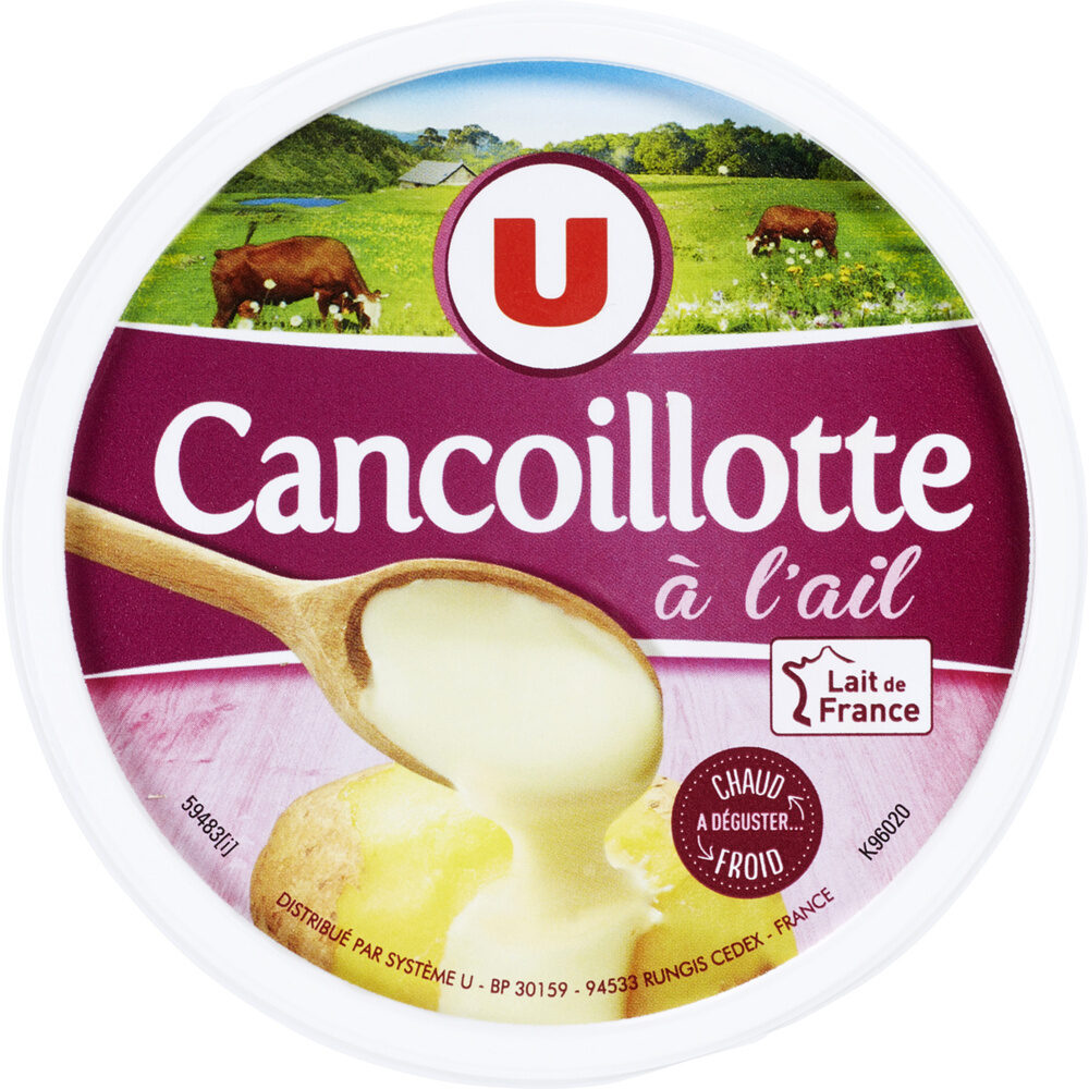 Cancoillotte à l'ail au lait pasteurisé 11% de MG - Produit - fr