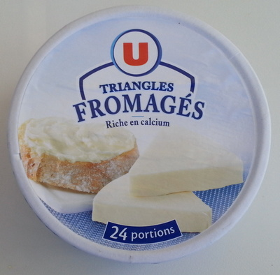 Triangles Fromagés 24 portions (19,5 % MG) - Product - fr