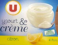 Yaourt & Crème Citron - Produit - fr