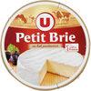 Petit Brie pasteurisé 32%mg - Produit
