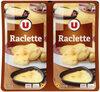 Raclette tranchée au lait pasteurisé 28% de matière grasse - Produit