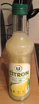 Sirop citron - Product