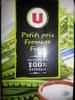 Soupe Petit Pois Fromage Frais - Product
