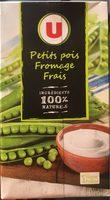 Soupe Petit Pois Fromage Frais - Nutrition facts