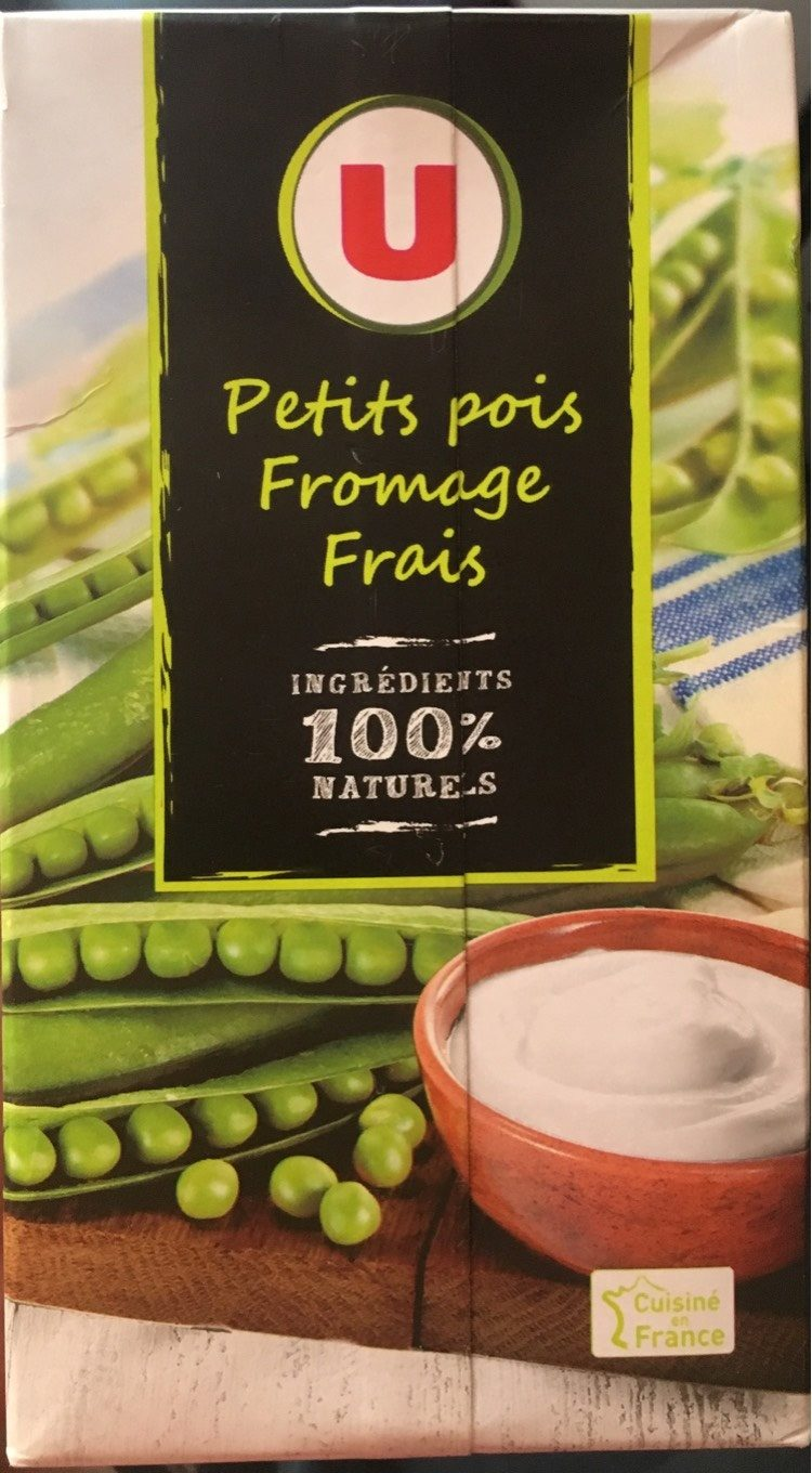 Soupe Petit Pois Fromage Frais - Voedigswaarden