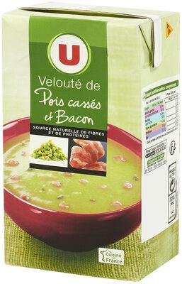 Velouté pois cassé et bacon - Produit - fr