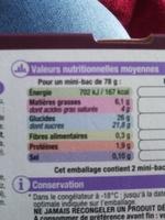 glace vanille cookies sauce chocolat - Produit - fr