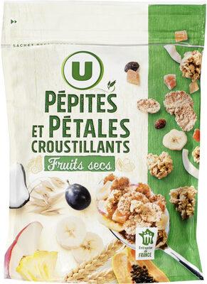 Pépites et pétales aux fruits secs - Produit - fr