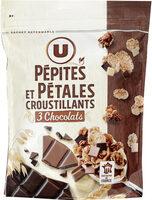 Pépites et pétales aux 3 chocolats - Prodotto - fr