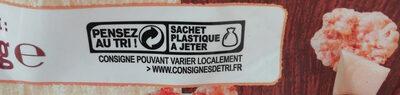 Pépites et pétales aux 3 chocolats - Istruzioni per il riciclaggio e/o informazioni sull'imballaggio - fr