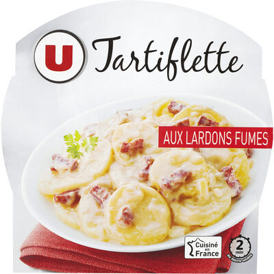 Tartiflette au lardon fumés - Produit - fr
