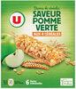 Barres de céréales pomme verte - Produit