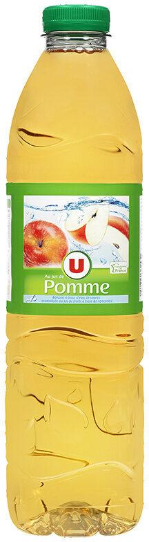 Boisson à base d'eau de source aromatisée au jus de pomme - Produit - fr