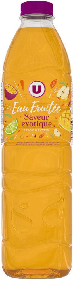 Boisson à base d'eau de source aromatisée au jus de fruits tropical - Product - fr