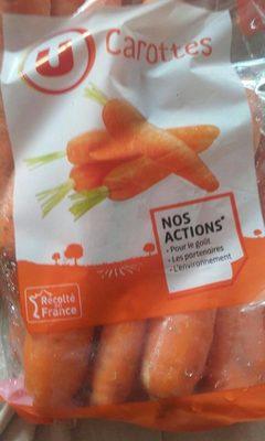 Carotte - Nutrition facts - fr