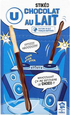 Stikéo batonnets chocolat lait - Produit - fr