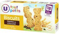 Biscuits pépites de choco d.18 mois - Produit