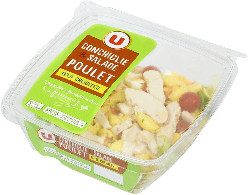 Salade pâtes poulet et crudités - Produit - fr