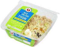 Salade riz thon oeuf et crudités - Produit - fr