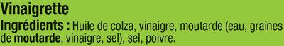 Salade pâtes surimi oeuf et crudités - Ingrédients - fr