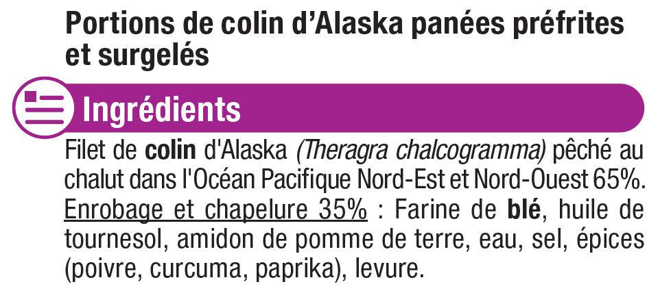 Bat.colin alaska msc - Ingrediënten - fr