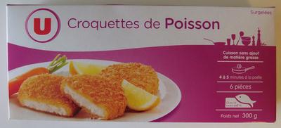 Croquettes de poisson - Product