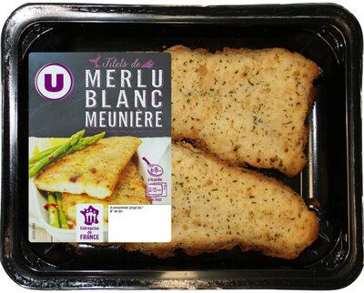 Filet de merlu blanc meunière - Product - fr