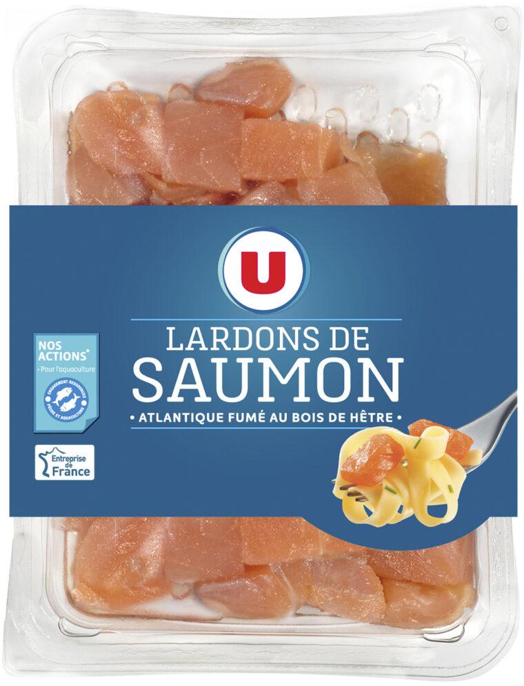 Lardons de saumon fumé d'Atlantique - Product - fr