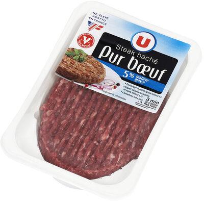 Steak haché pur bœuf - Produit - fr