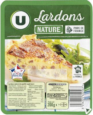 Lardons nature qualité supérieurs - Produit - fr