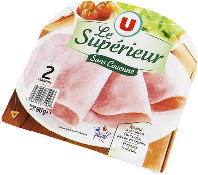 Jambon supérieur découenné-dégraissé - Product