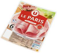 Jambon de Paris découenné et dégraissé - Product