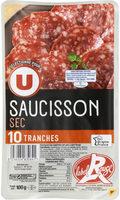 Saucisson sec label rouge - Produit - fr
