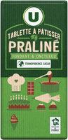 Tablette praliné à pâtisser - Produit - fr
