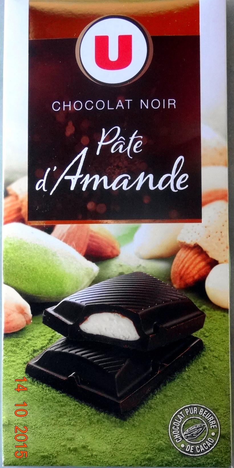 Chocolat noir, Pâte d'Amande - Product