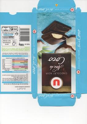 Chocolat Noir Noix de Coco - 1
